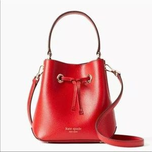 KATE SPADE EVA BREEZY SMALL TOP HANDLE BUCKET BAG